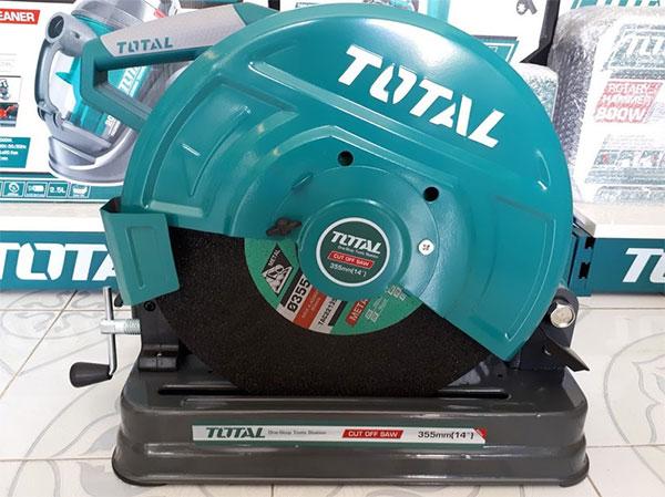 Hình ảnh thực tế máy cắt sắt Total TS92035516 2350W